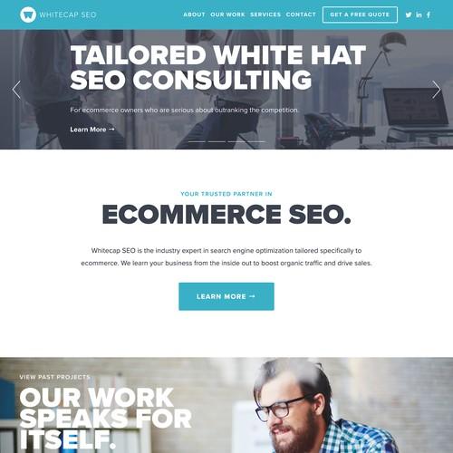 Whitecap SEO Website Design
