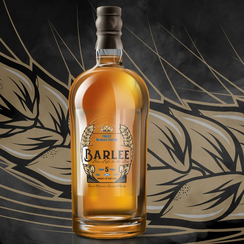 Bold Logo Label Design for Barlee