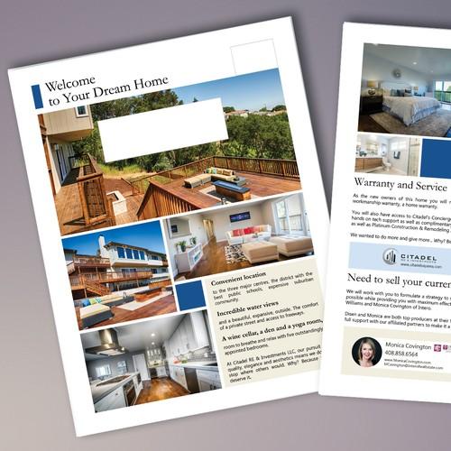 Real Estate Marketing Poster