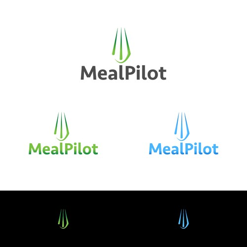 simple logo for MealPilot