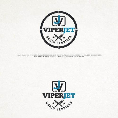 Logo design for ViperJet