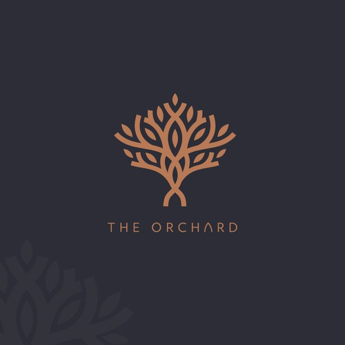 Logo proposal for restaurant/recreational place called The Orchard.