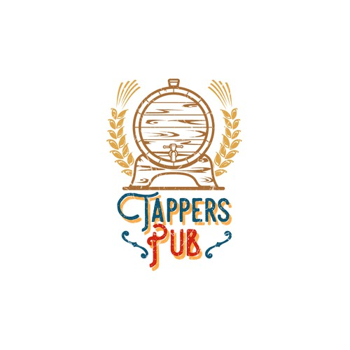 Tappers Pub, an historic neighbor bar needs a new logo