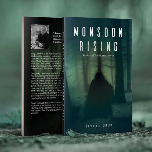 Clean book cover for Monsoon Rising