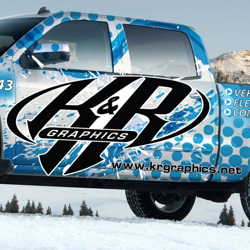 Chevrolet Wrap for K&R Graphics