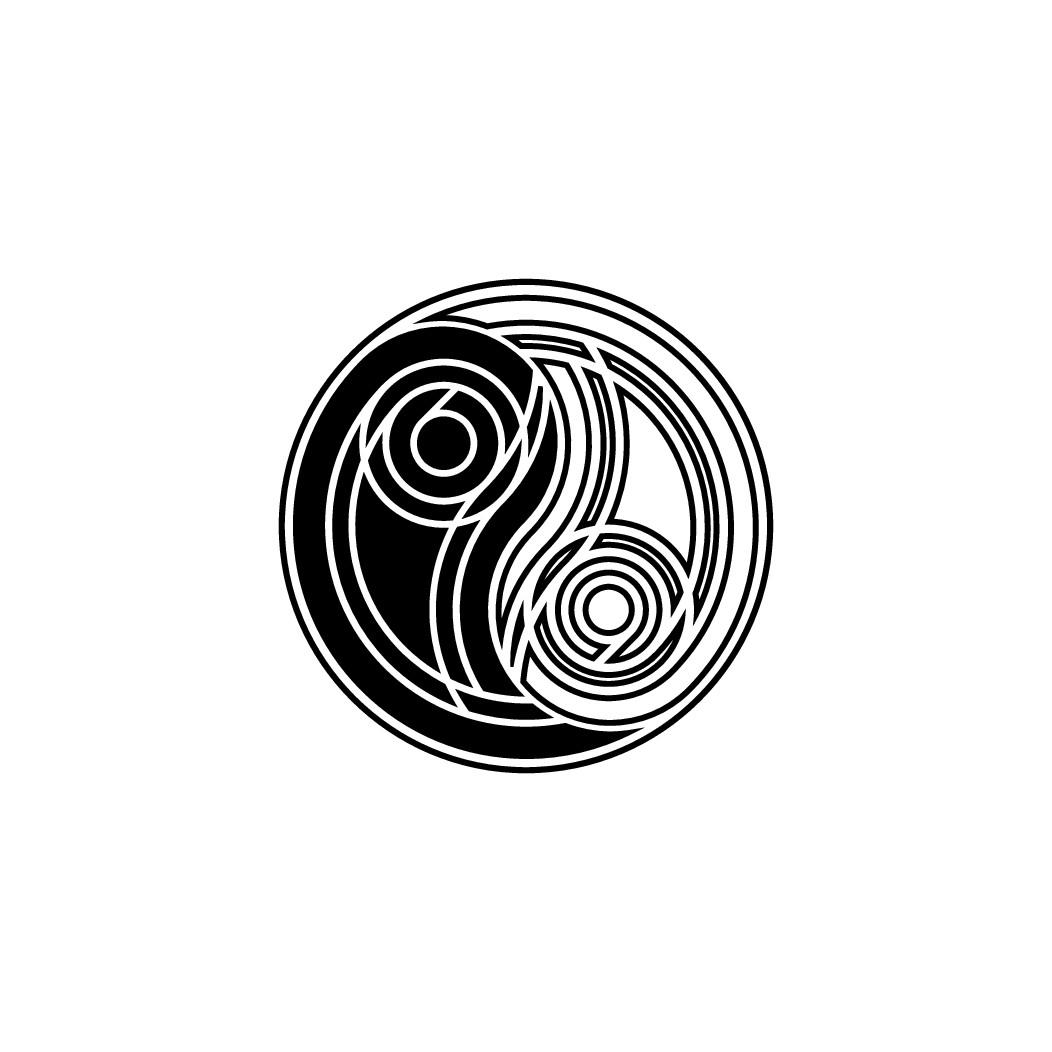Designing a Yin-Yang labyrinth journey tattoo