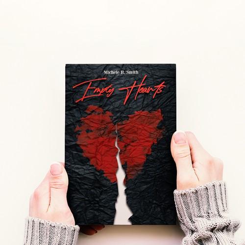 Empty Hearts - Book cover design