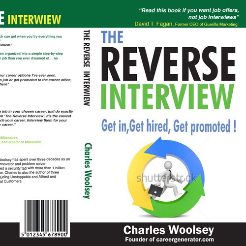 Design a best selling book cover to help get people their dream job!