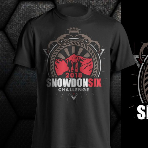 SNOWDONSIX tshirt contest entry