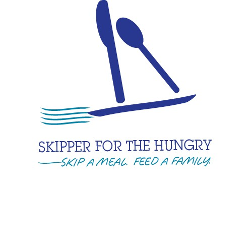 Skipper For the Hungry logo