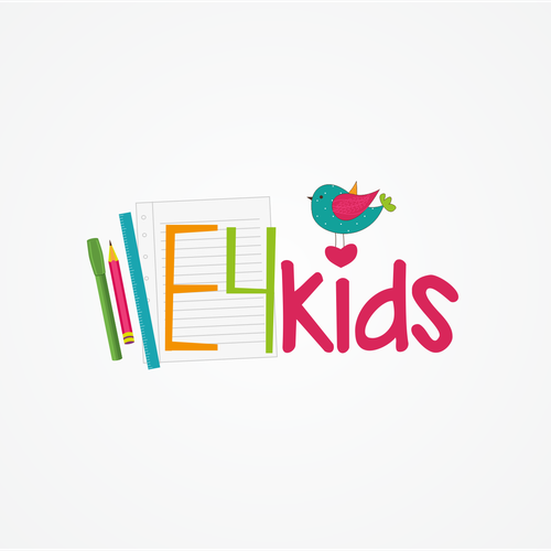 Logo for English school for kids