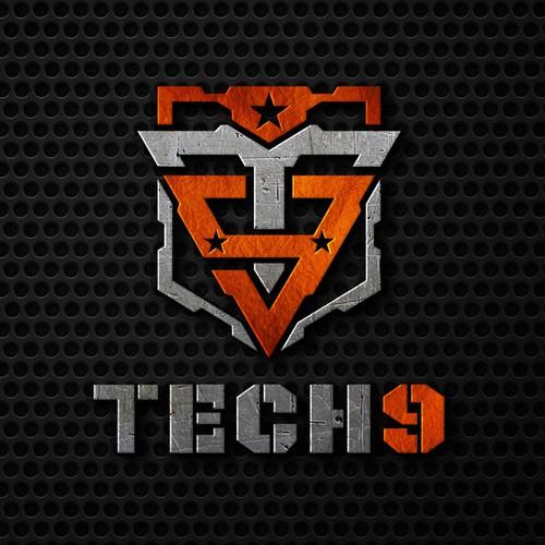 Tech9Guns logo design