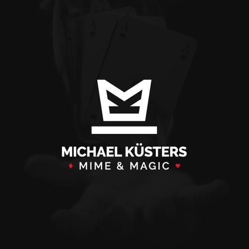 Modern logo for Michael Küsters