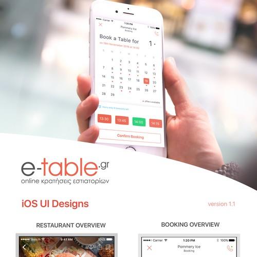 Restaurant Booking App