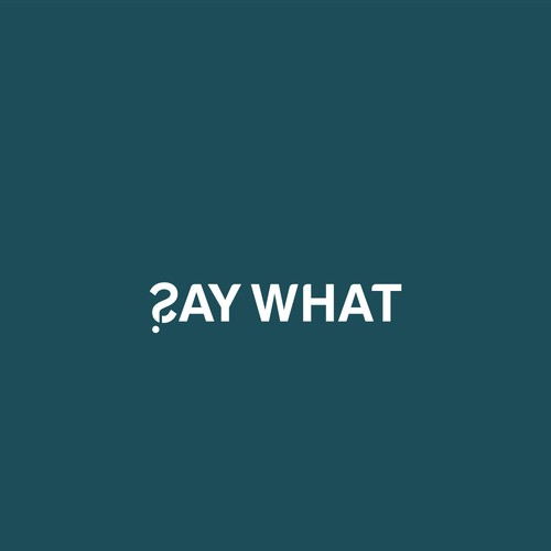 Simple and meaningful logo for Say What