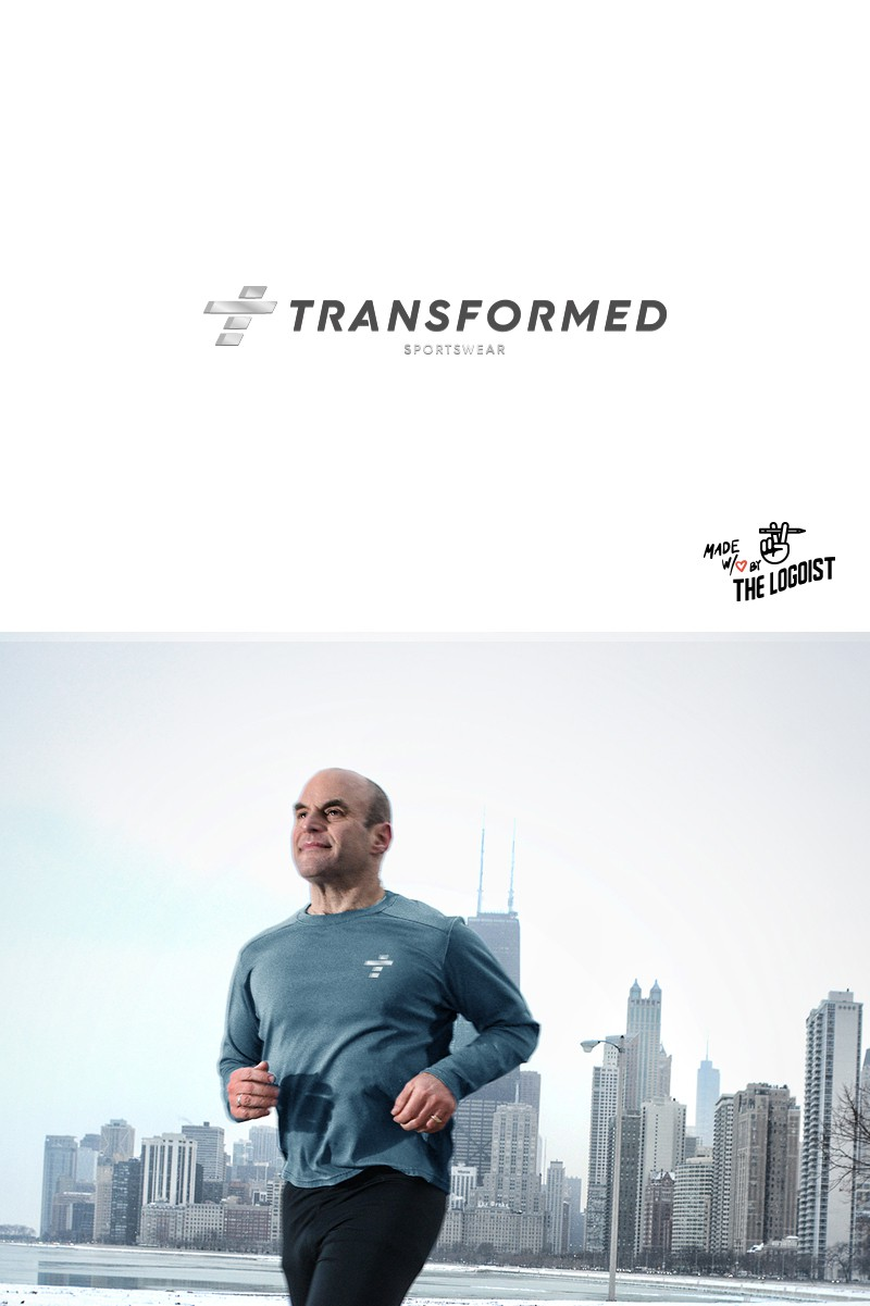 """Logo for """"Transformed Gear"""" an athletic apparell company"""