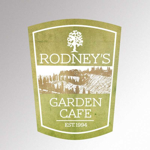 Help Rodney's Garden Cafe with a new logo