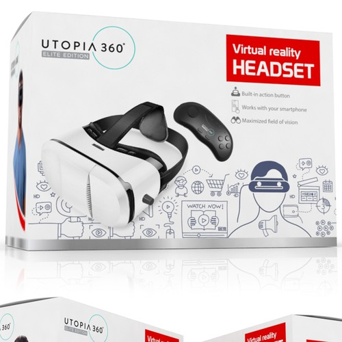 Virtual Reality Headset Packaging