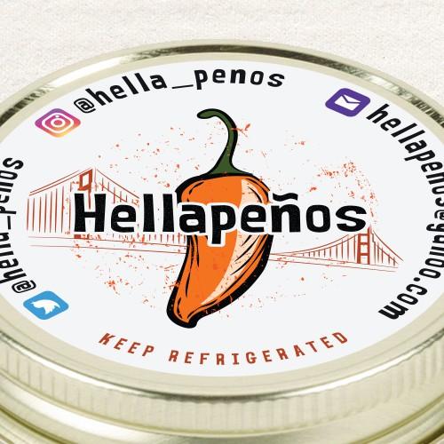 Hellapenos label