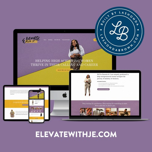ELEVATE WITH JE | Ministry & Business Coach