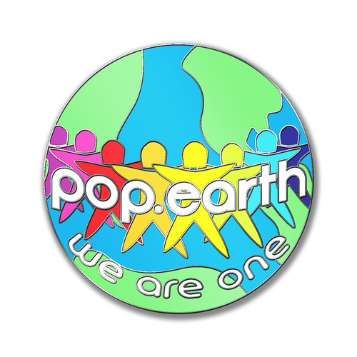 POP EARTH PIN
