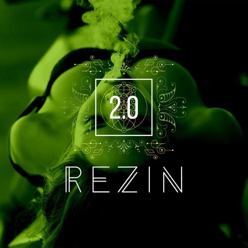 Inspiring & symbolic logo for a trend setting retail company providing accessories for the marijuana industry - Rezin2.0