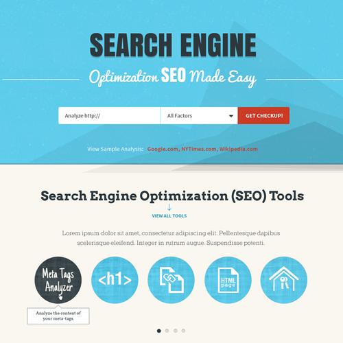 website design for seo site checkup