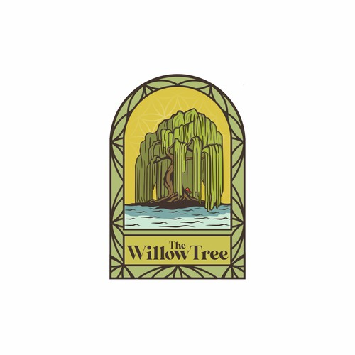 The Willow Tree logo design