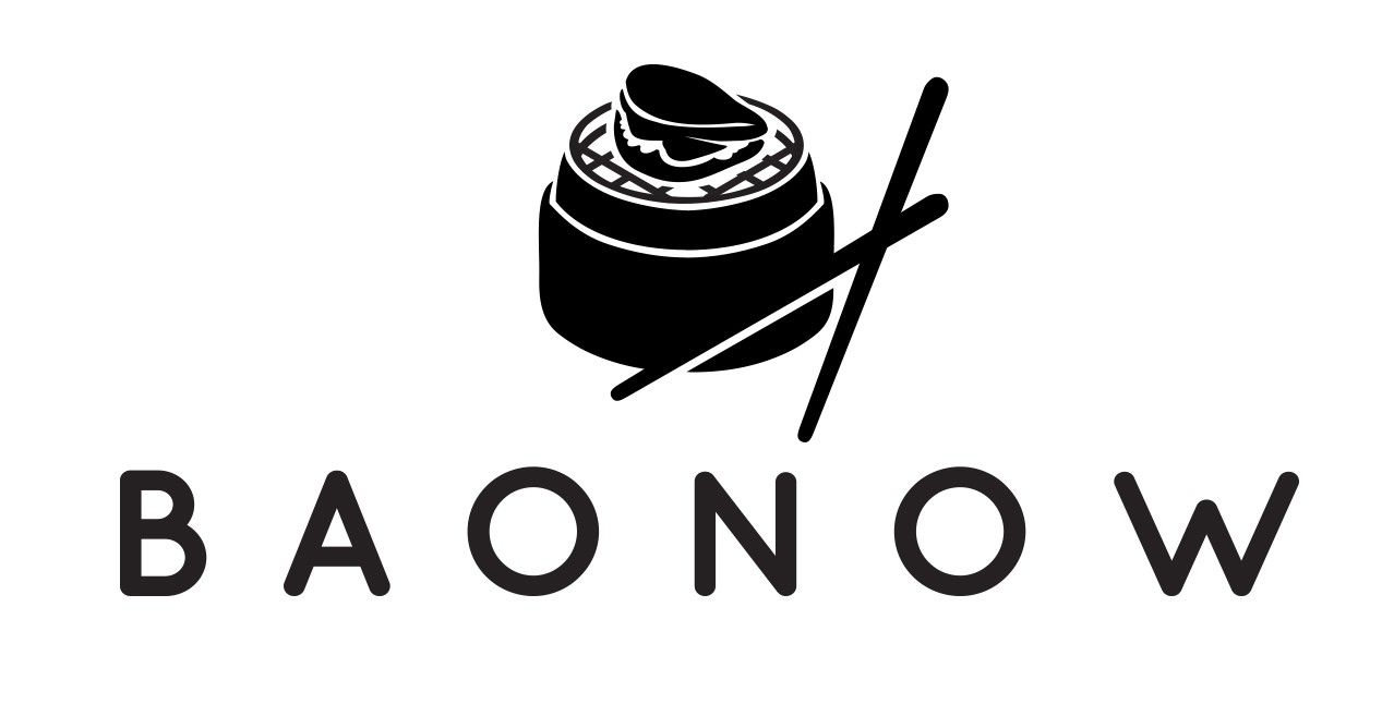 design a contemporary logo for a food stand which sells asian bao buns