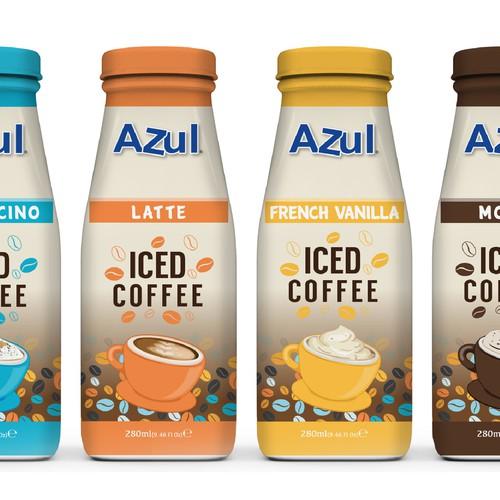 """AZUL """"Iced Cofee"""""""