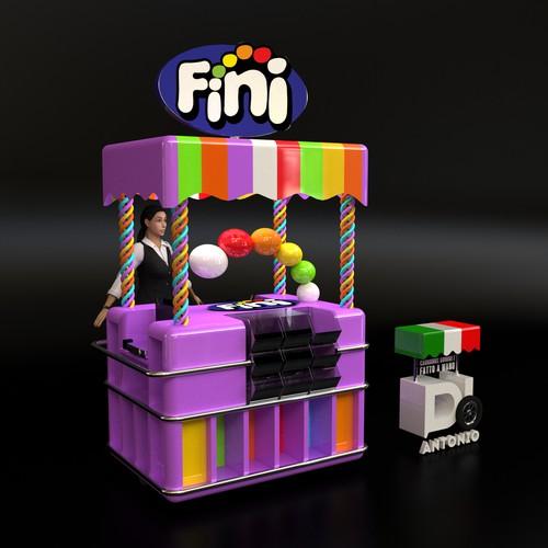 Candy cart design