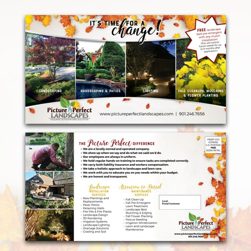 Picture Perfect Landscapes Fall Postcard