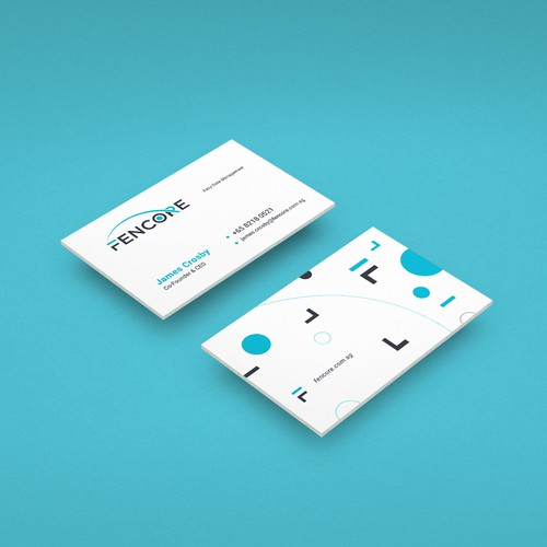 Business Cards for Tech Brand