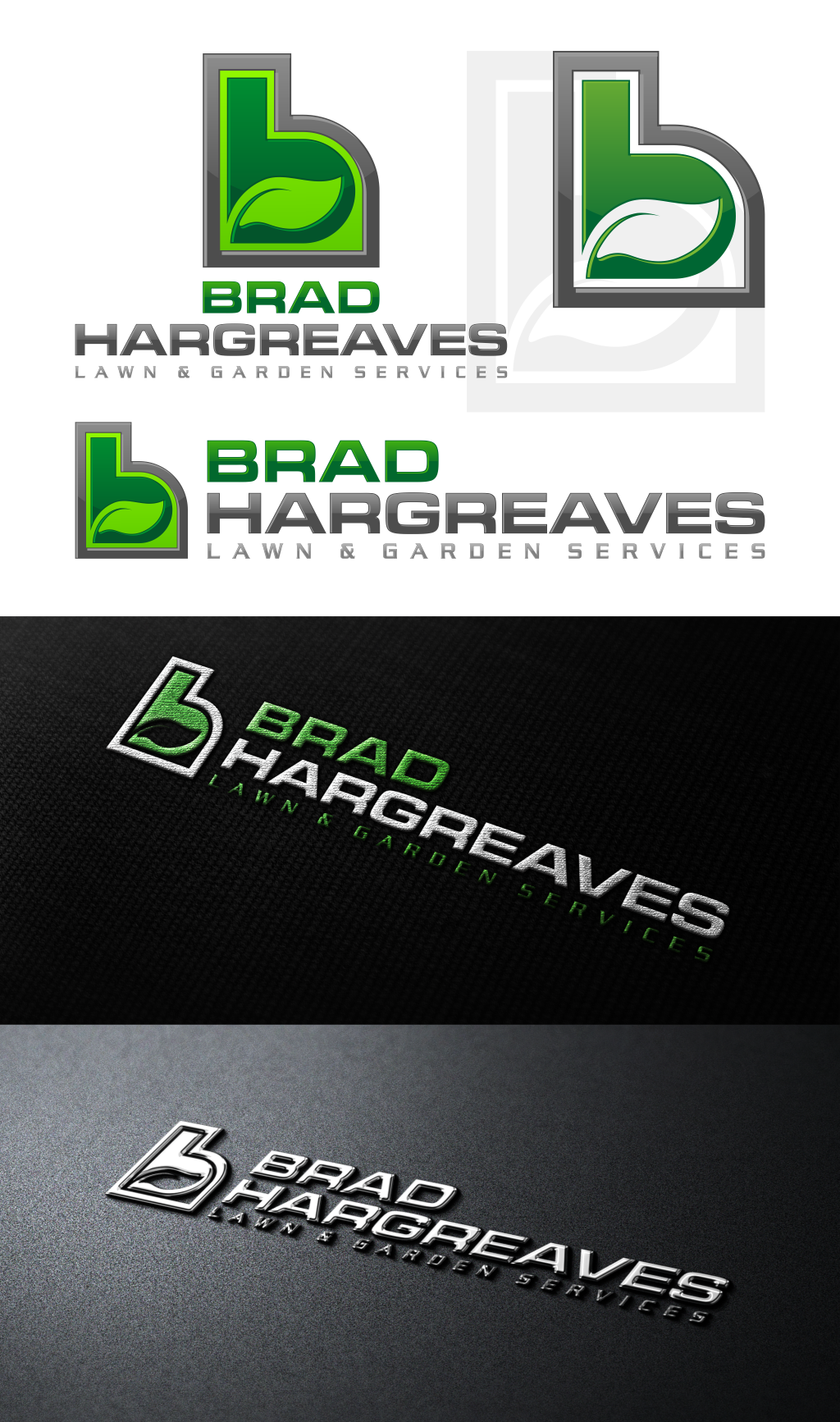 Brad Hargreaves Lawn & Garden Sevices needs a new logo