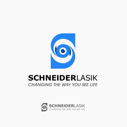 Schneider Lasik Logo Design