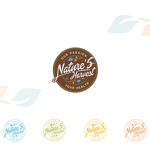New Brand Logo - Nature's Harvest Our Passion Your Health