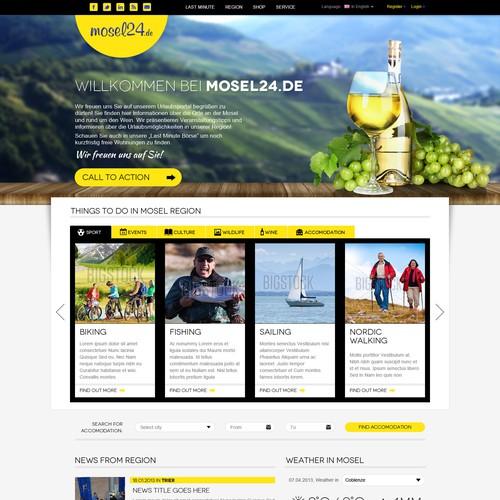 Informational webdesign