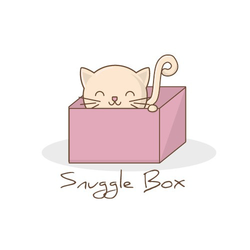 cute logo cat
