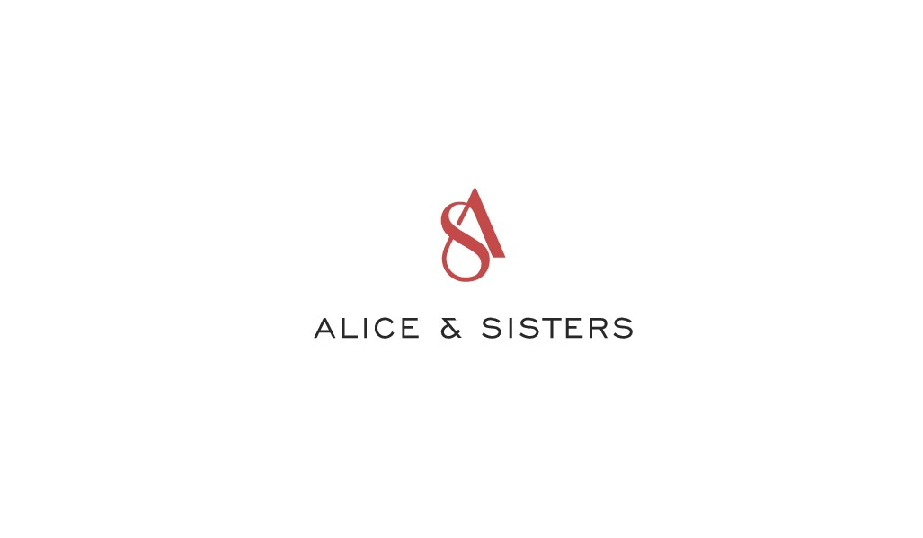 "Design a classic modern logo for ""Alice and Sisters"" - shoe company"