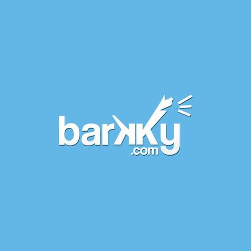 next logo for Barkky.com