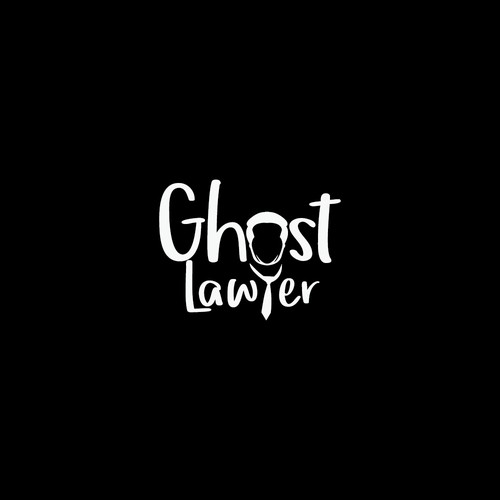 Simple and unique Logo concept for Ghost Lawyer