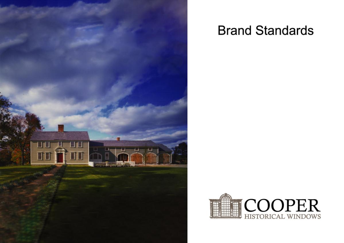 Cooper Historical Windows Brand Guidelines