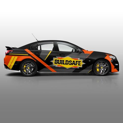 BUILDSAFE Car Wrap