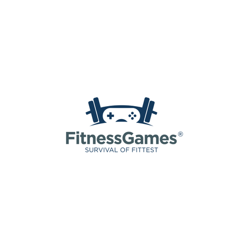 fitness and game icon