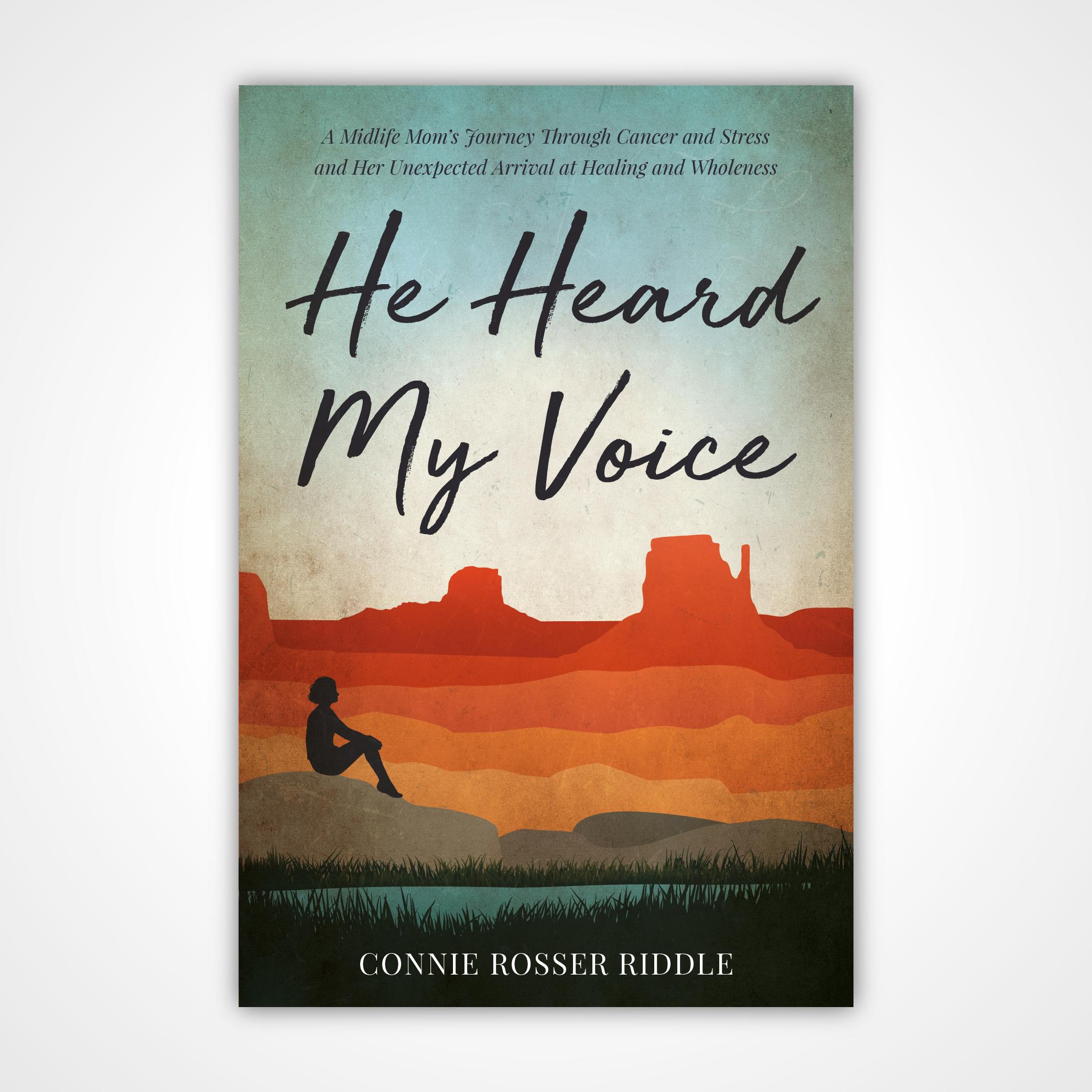 Create a Paperback Book Cover for an Inspirational Memoir for Women