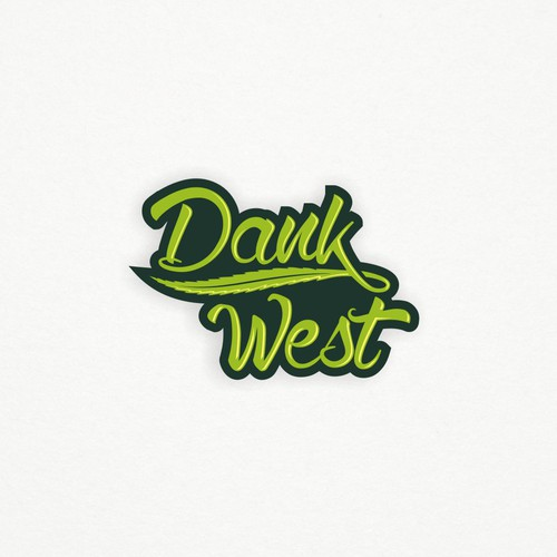 Cool hip handwriting Logo for the next hot cannabis apparel company.