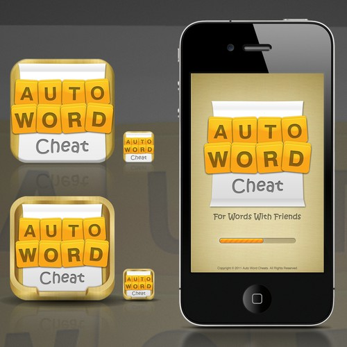 Create the next app design for Auto Word Cheat for Words With Friends