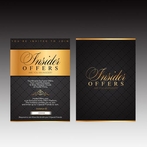 Elegant Invitation Card