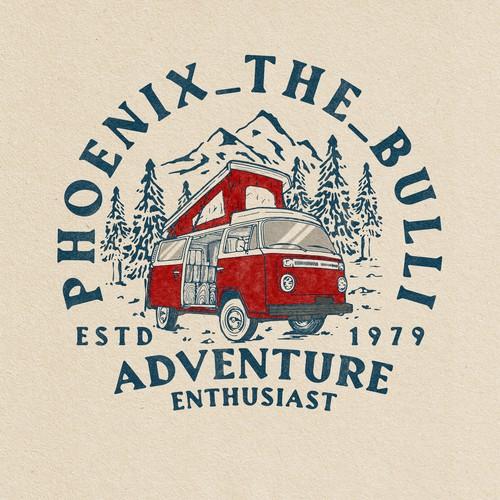 Adventure Enthusiast - logo design for Phoenix_The_Bulli