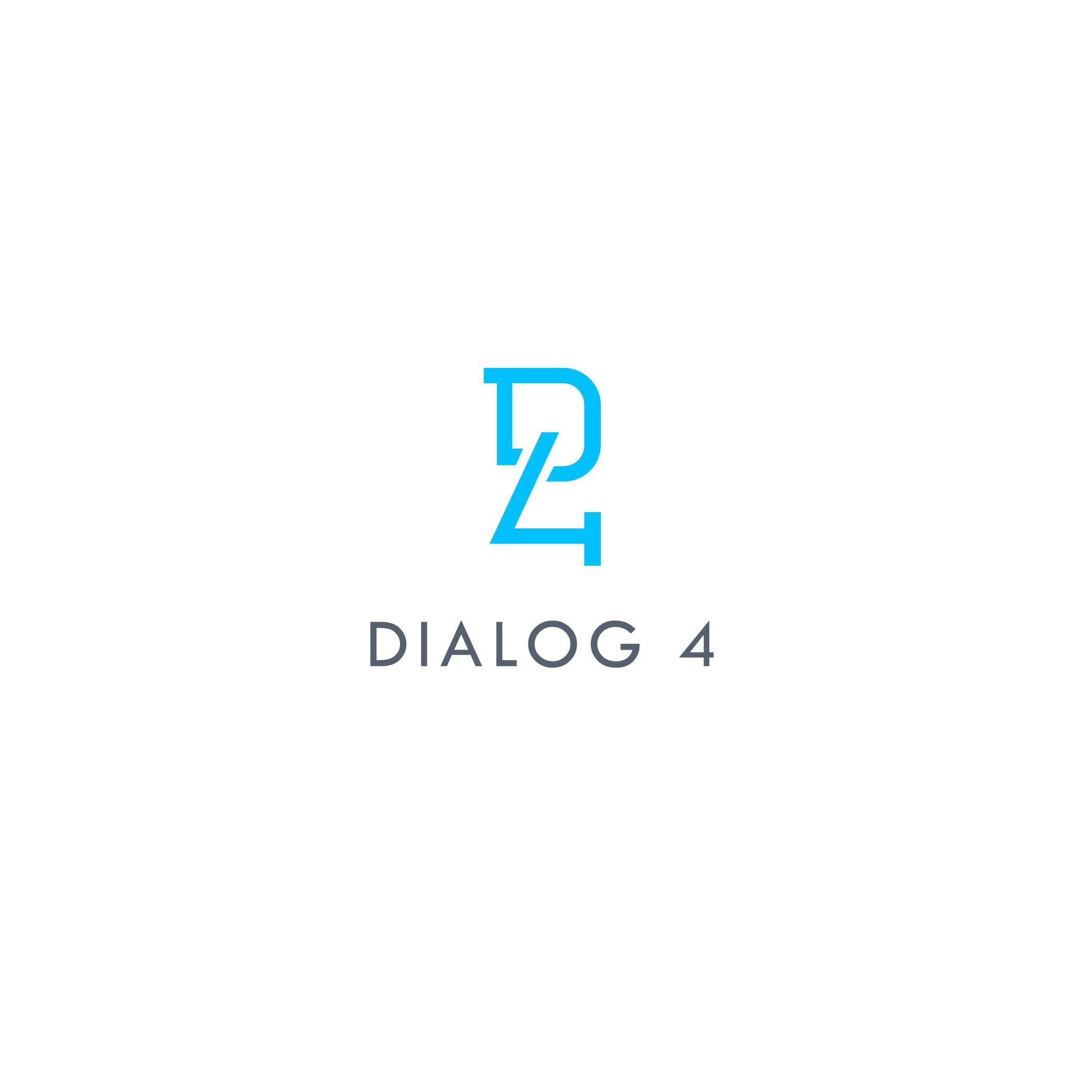 Erstelle ein kompetentes, spannendes Logo für Dialog 4